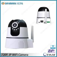 Motion Detection 1.0MP Wireless Dome IP Camera WPS Manufactures
