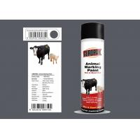 Spray Marking Spray Paint Matt Light Gray Color No Harm For Animal APK-6810-8 Manufactures