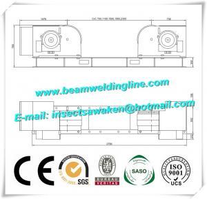 Automatic Pipe Welding Rotator , Welding Manipulator / Welding Turning Rolls Manufactures