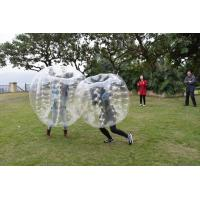 China 0.7mm TPU Human Bubble Ball / Inflatable Bumper Ball For Outdoor Activity on sale