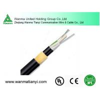 16 cores all dielectric Self-Supporting Aerial Optical Fiber Cable ADSS Manufactures