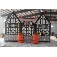 Quality Outdoor durable inflatable serving bar, inflatable pub tent, inflatable irish for sale