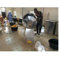 stainless steel octagonal type  flavor mixer machine MCFM series for plantain potato chips nuts snack Manufactures