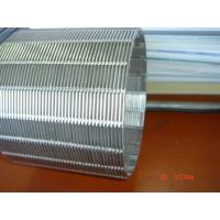 China Cylindrical Element / rotary drum screen / intake strainer screen cylinder / profile wire screen cylinder on sale