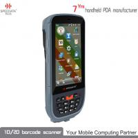 Android Smart Handheld 13.56Mhz HF RFID Reader For Products Tracking , Inspection