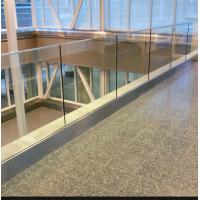 China ss U channel railing outdoor aluminum glass balustrade for sale on sale