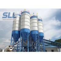 Waterproof Steel Cement Silo , Batching Plant Silo Convenient Installation Manufactures
