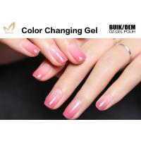 15ml Lacquer Soak Off Mood Changing Gel Nail Polish With Remover Liquid Manufactures