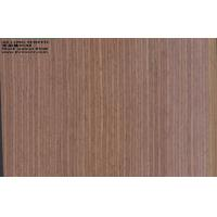 Quality Reconstituted Brown Walnut Wood Veneer Sheets Paper Backed for sale