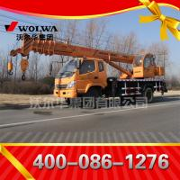 12 ton small wheel crane truck GNQY-898 Manufactures