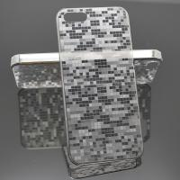 Grey Transparent Cell Phone Protective Cases Luxury , Plastic TPU Manufactures
