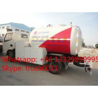 Quality dongfeng furuika 5500L lpg gas dispenser truck for sale, hot sale propane gas dispensing truck for filling gas cylinders for sale