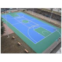 Easy Using Color Customized Tennis Court Surface For Multi-functional Silicone PU Materials Manufactures