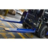 Battery Powered Replacement Forklift Forks With Bluetooth Transmitters Manufactures