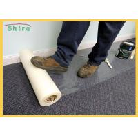 Temporary Adhesive Carpet Protection Film 25-150 Mirons Carpet Protector Roll Manufactures