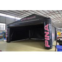 Black Custom Inflatable Party Tent For Outdoor Advertisement To Exporters Manufactures
