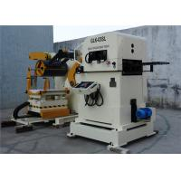 Hydraulic System Control NC Servo Decoiler Straightener Feeder For Punching Machine Manufactures