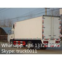 factory selling 4x2 35cbm 10ton jac refrigerator box truck, high quality and competitive price 5-8ton refrigerated tuck Manufactures