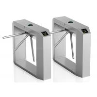 RFID Card Reading Automatice Turnstiles With Three Arms Control Manufactures