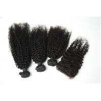 Wholesale real hair curtain loose wave top quality real human hair weft Manufactures