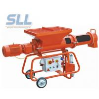 Plastering Mortar Spraying Machine Automatic Mobile Mortar Horizontal Continuous Mixer Manufactures