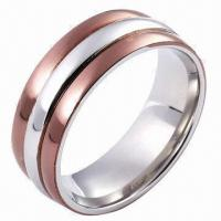 Stainless Steel Ring, Customized Designs and Logos Accepted Manufactures