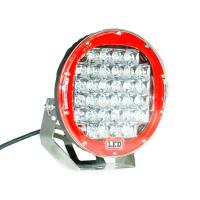9 Inch Red 96W Led Work Lights For Trucks , CREE LED Work Lighting Manufactures
