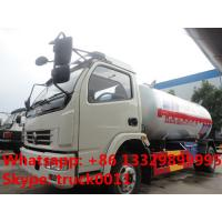 CLW brand 5.5m3 2.3tons bulk lpg gas transported truck for sale, factory sale best price 2.5tons propane gas tank truck Manufactures