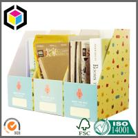 Cute Stationery Paper Corrugated Diy Desktop Storage Box A4 Size Folder for Display Box Manufactures