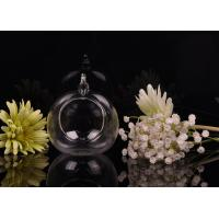 Borosilicate Glass Hanging Tealight Candle Holders ASTM Passed Manufactures