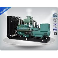 Open Three Phase Industrial Generator Set Silent With 12V DC Electric Starting System Manufactures