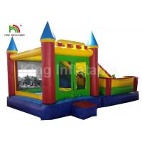 Buy cheap 0.55mm PVC Tarpualin 4 In 1 Combo Inflatable Jumping Bouncer With Slide For Kids from wholesalers