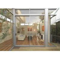 Sound Isulation Aluminium Sliding Doors With Flyscreen For Residential Manufactures