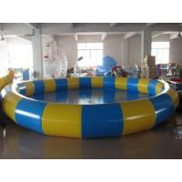 0.9mm PVC Tarpaulin Inflatable Family Pool for Swimming Round Manufactures