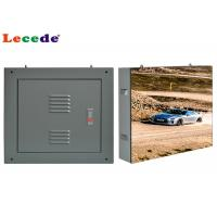 P4.8 Advertising Outdoor Fixed LED Display Steel Waterproof Cabinet Manufactures