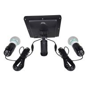 Quality 4000mAH Li-ion Battery 2pcs 3W 20LED Bulbs Solar Home Kits Indoor Lighting DC for sale