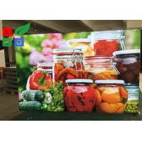 Depth 30mm LED Fabric Light Box Textile Frame For Restaurant Menu Board Manufactures