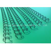6.4MM Double Loop Wire 3 1 Pitch Spiral Binding Combs Extremely Thin Coated Manufactures