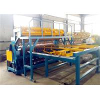 5 - 12 Mm Thread Concrete Reinforcing Mesh Machine , Welding Wire Machine Antirust Manufactures