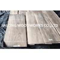 Slice Cut American Wood Flooring Veneer / Walnut Wood Veneer For Floor Surface Manufactures