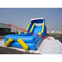 above ground pool water slide giant inflatable water slide for sale Manufactures