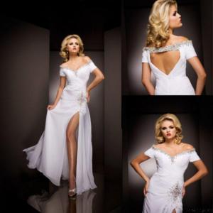 Off-shoulder Pageant Dress L011 Manufactures