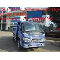 Quality forland brand mini dump truck, 2ton dump truck with factory price, hot sale forland mini LHD/RHD dump tipper truck for sale