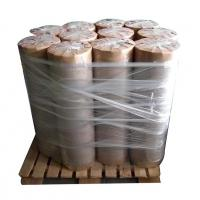 Buy cheap High quality rolls package 80g 1092 width brown no PE film VCI protection paper from wholesalers