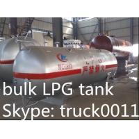 small mini  4tons propane gas storage tank for sale, CLW brand best price4,000kg surface lpg gas storage tank for sale Manufactures