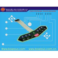 Abrasion Resistant Touch LED Membrane Switch Keypad With Metal Dome Manufactures