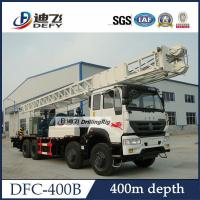 China DFC-400B Sinotruk Truck mounted water well drill rig for sale, Hydraulic Water Well Rotary on sale