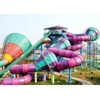 Amusement Theme Park Water Slide Giant Equipment Safety Tantrum Valley Manufactures