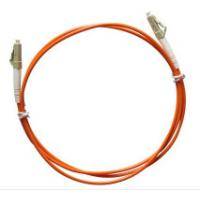 Buy cheap Multimode LC to LC Simplex Fiber Optic Patch Cord with 3.0mm Orange PVC Jacket from wholesalers