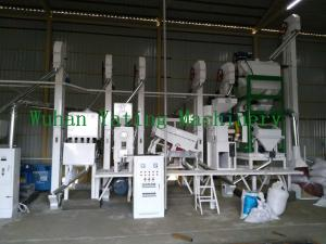 Agriculture Machinery 40 Ton Per Day Automatic Rice Mill Plant Manufactures